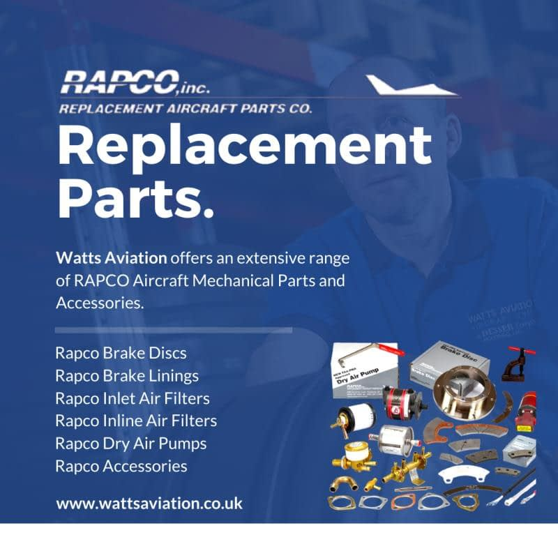 rapco replacement parts