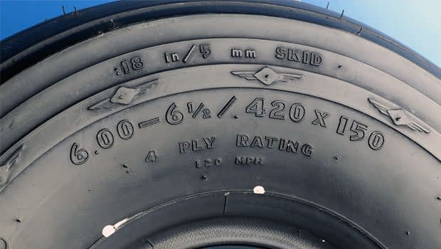 aircraft airplane tyre sizes dimensions specifications chart comparison technical data book sheet