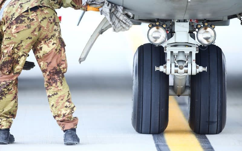 aircraft tyres military aviation mro maintenance repair shop easa faa iso ndt pma der